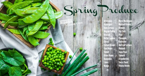 What's in season- Spring Produce.
