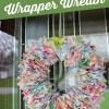 How to Make a Cute Dum Dums Wrapper Wreath