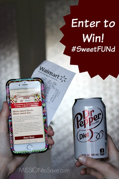 Enter to Win #SweetFUNd from Diet Dr Pepper
