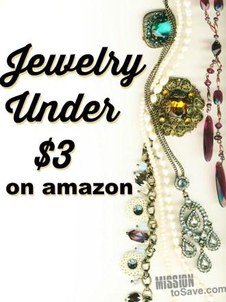 Trendy jewelry Under $3 on amazon