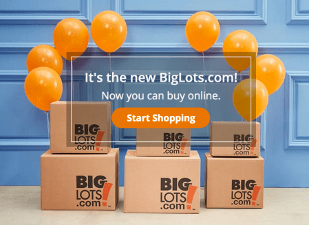 Shop Big Lots Online