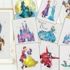 Beautiful Disney Character Inspired Prints