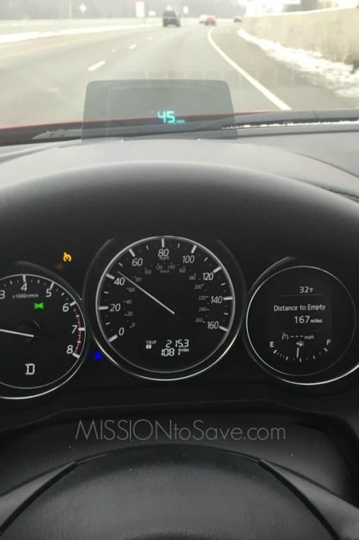 mazda6 dash display