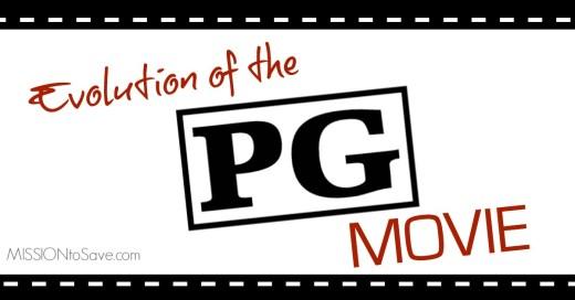 evolution of the PG movie