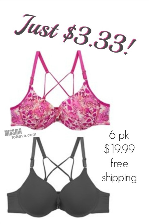 strappy bras $3.33 ea