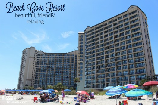 "Beach Cove Resort- Perfect Relaxing Family Vacation in North Myrtle Beach. If you want to feel like you are getting away from the bustle of more ""touristy"" areas, yet are still close enough to take in a show or great buffet- Beach Cove is the perfect place for your family."