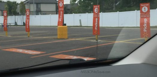 Walmart Grocery Pickup Lanes