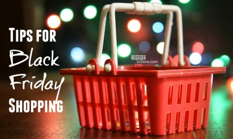 Tips for Black Friday Shopping
