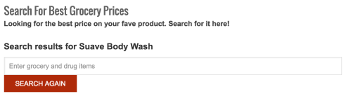 suave body wash search
