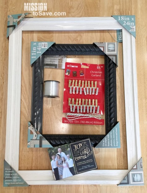 Picture Perfect Holiday Greeting Card Display Idea
