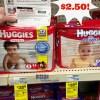 HOT! Huggies Diapers Jumbo Packs Only $2.50 at CVS!