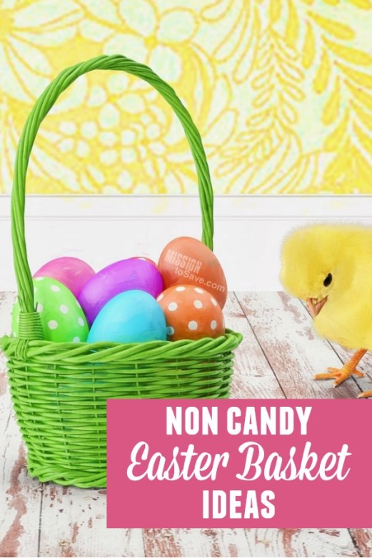 Are you looking for non candy easter basket ideas? Check out this list of easter basket options for both boys and girls - no sweets included.