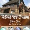 Sweet Stop in Utica Ohio at Velvet Ice Cream – Not Far From Columbus