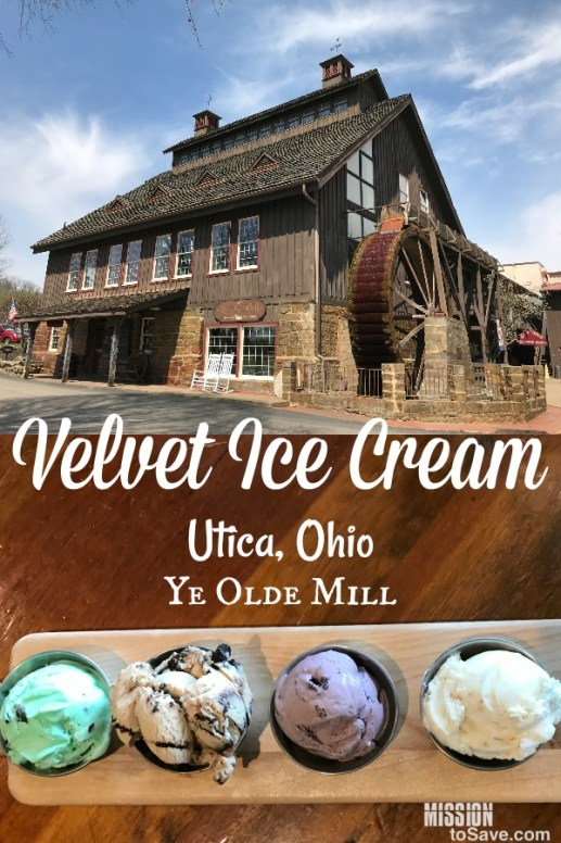 Make a sweet stop in Utica, Ohio for a visit to Velvet Ice Cream factory and Ye Olde Mill. It's not too far from Columbus and the perfect day trip or staycation destination
