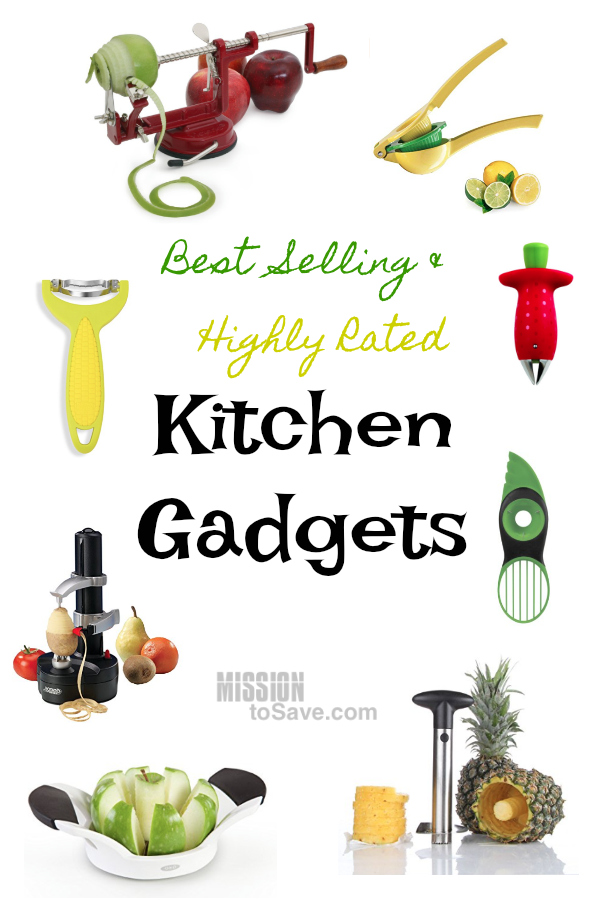 10 Best Selling and Highly Rated Kitchen Gadgets - Check out this list of Kitchen Gadgets to make your meal prep a breeze. These tools are highly rated for prepping fruits and veggies for your favorite recipes.
