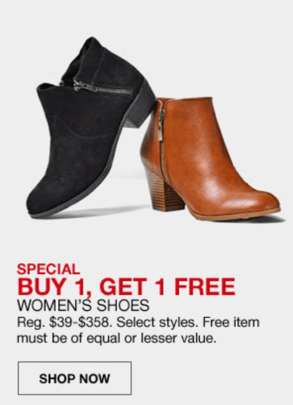 Macy's Cyber Monday- BOGO Women's Shoes