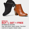 Macy's Cyber Monday- BOGO Women's Shoes: As Low as $19.50 Each
