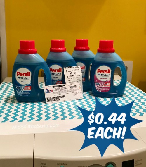 persil laundry detergent and coupons