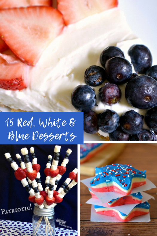 red white and blue desserts patriotic recipes