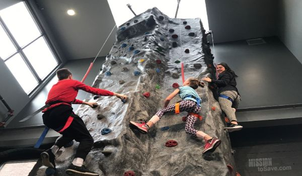 Climbing Wall Paddle and Climb in Sandusky Ohio