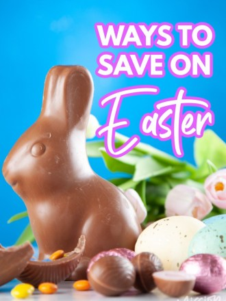 easter goodies with text ways to save on easter