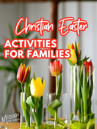 tulips in church with text christian easter activities for families