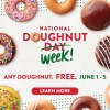 krispy kreme national doughnut week