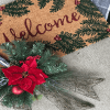 Frugal and Festive Front Door Decor for Christmas