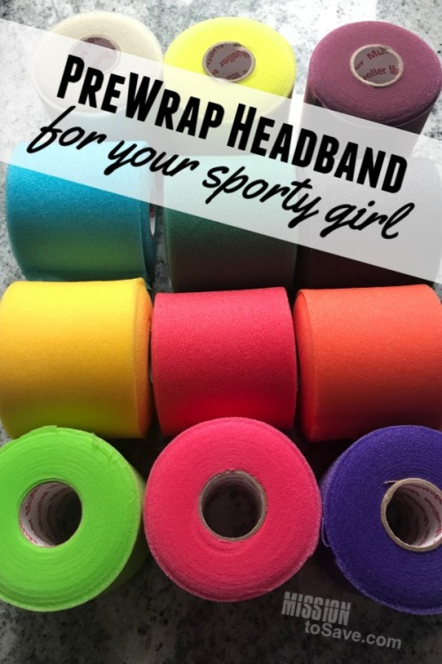 assorted prewrap for headbands