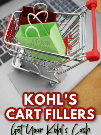 online shopping cart kohls cash