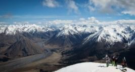 hiking ridge Mt olympus Mission WOW ski women