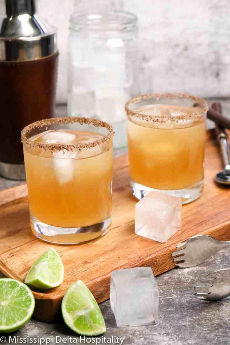 Spicy Smoky Margarita