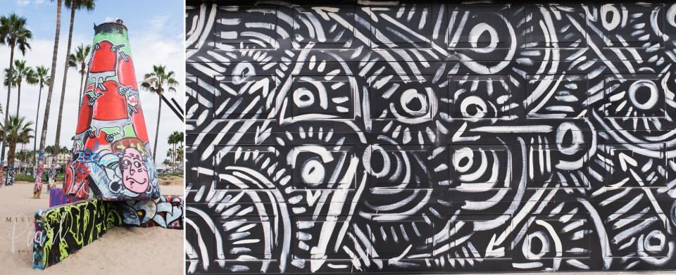 venice-beach garage doors and graffiti
