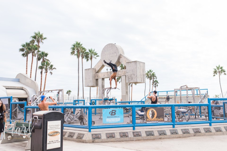 Muscle Beach at Venice Beach
