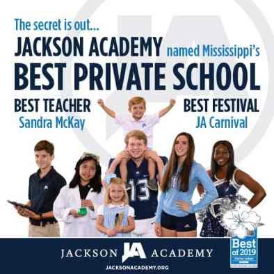 Jackson Academy - Mississippi Scoreboard