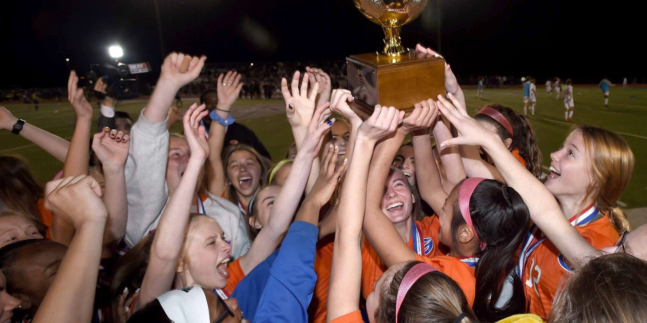 Gulfport vs Clinton 6A MHSAA Girls Soccer Championship 2020