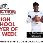 Junction Deli Player of the Week – 10-21