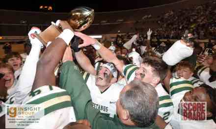 WEST JONES ENDS WEST POINT'S FOUR-YEAR REIGN AS CLASS 5A STATE CHAMPIONS, HOLDS ON FOR 33-27 WIN