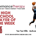 Performance Therapy Girls Player of the Week 12-30