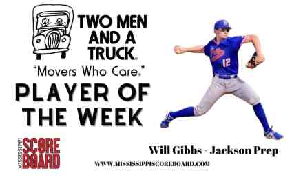 Two Men and a Truck Baseball Player of the Week – 3-24