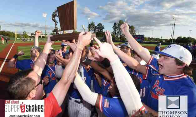 PREP SWEEPS MRA TO WIN FOURTH STRAIGHT CLASS 5A STATE BASEBALL CHAMPIONSHIP – By Robert Wilson