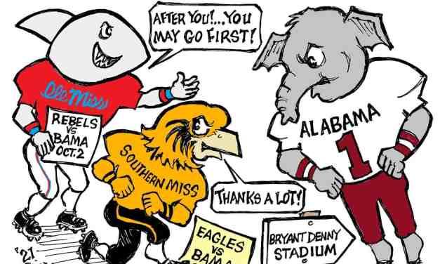 Facing Alabama Cartoon – by Ricky Nobile