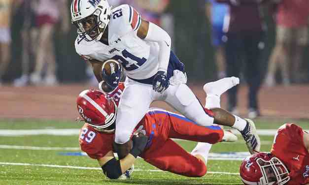 MRA SCORES 50 ON PREP AGAIN, MRA'S DAVIS DALTON SETS MISSISSIPPI RECORD WITH 388 RECEIVING YARDS – By Robert Wilson