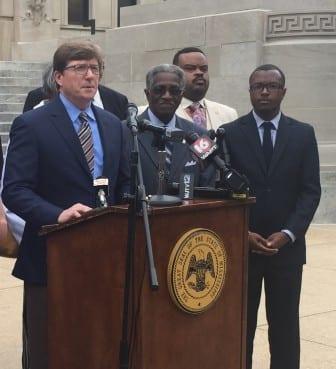 Rep. David Baria, D-Bay St. Louis, discusses Democrats concerns about the current legislative session.