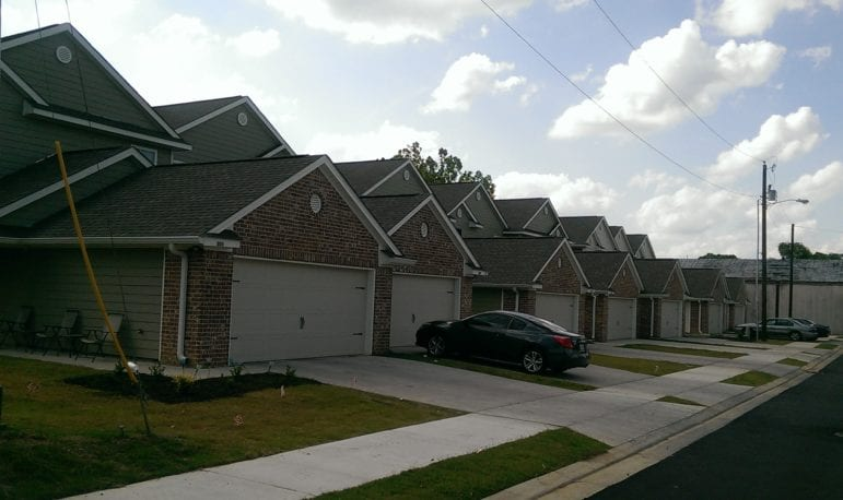 East Village Estates, a low-income housing development in Jackson