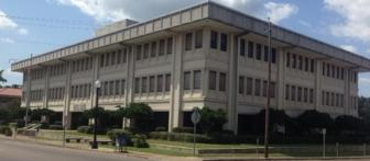 William M. Colmer Federal Building and U.S. Courthouse in Hattiesburg.