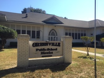 Greenville School District administrative offices on Main St. in Greenville