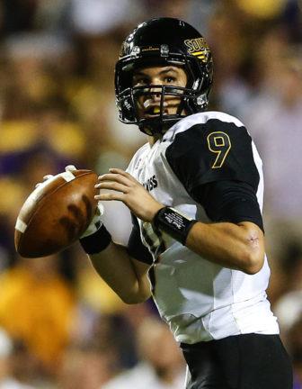 Southern Mississippi quarterback Nick Mullens