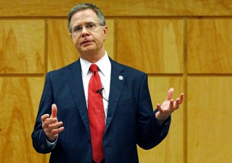 Jeffrey S. Vitter, chancellor of the University of Mississipp