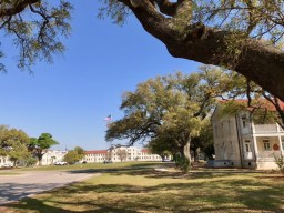 Centennial Plaza is also known as the Gulfport Veterans Administration Medical Center Historic District.